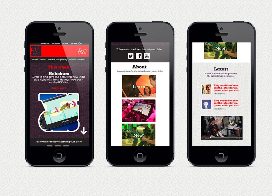 Virgin Media Game Space